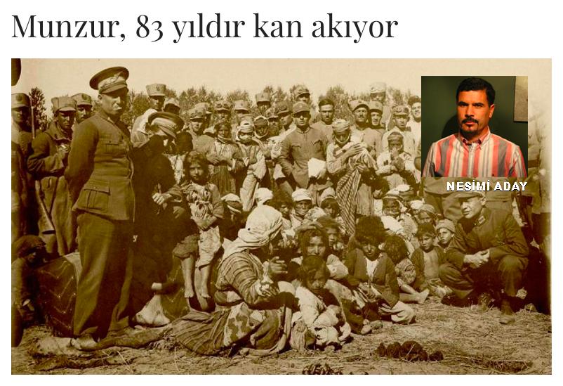 4 MAYIS 1937'DE DERSİM SOYKIRIMI İÇİN KARAR İMZALANMIŞTI